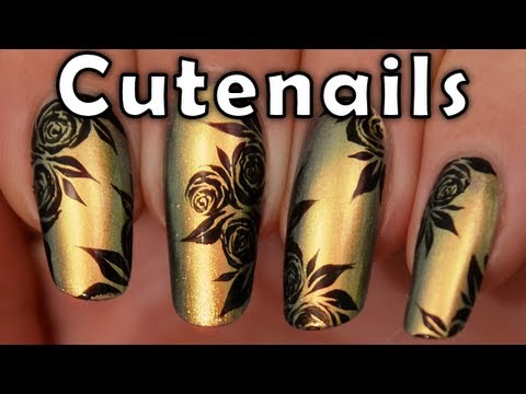 Party Nail Art Designs Party Nail Art Design Tutorial