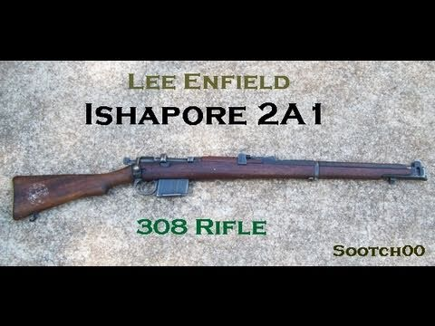 Lee Enfield Ishapore 308 Rifle