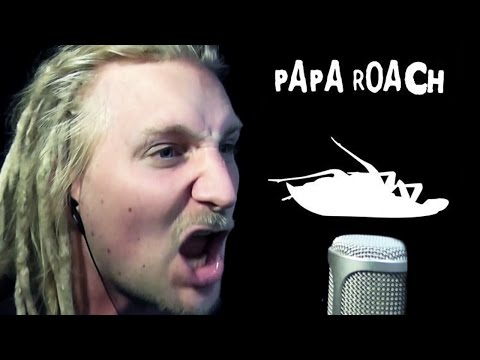 PAPA ROACH - BETWEEN ANGELS AND INSECTS (Cover)
