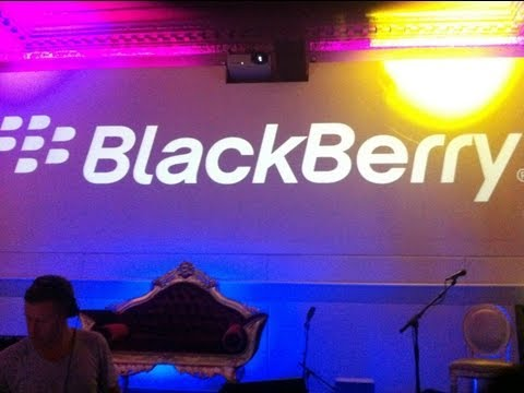 BlackBerry Music Launch London 2011