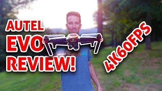Autel EVO 4K 60fps Drone! In-Depth Review