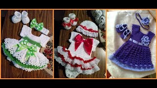 latest crochet baby dress\crochet baby outfit\baby clothes 2017-2018