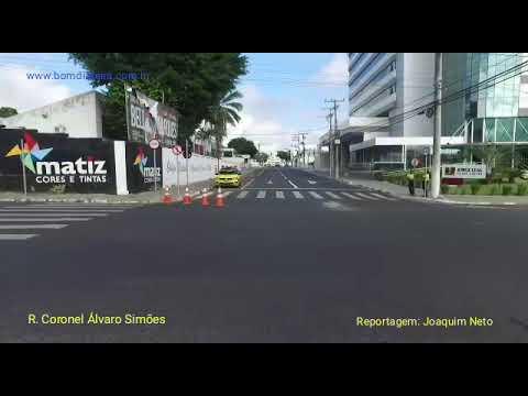 Mudanças no trânsito: Rua Coronel Álvaro Simões