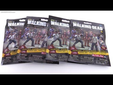 McFarlane The Walking Dead series 2 figure blind bag openings