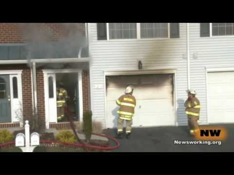 01.16.10 - House Fire, 1275 Basswood Lane, Whitehall , PA