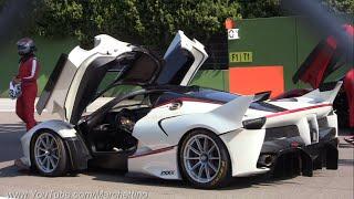 4x Ferrari FXXK Insanely EPIC Sounds!