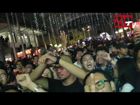 NDX AKA -- Ritual Khusus Sebelum Nyanyi DITINGGAL RABI, Live From Synchronize Fest 2018 Jakarta