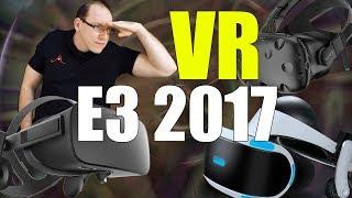 E3 2017: VR que dispensa fios, que pode ser tocado... o futuro da realidade virtual!