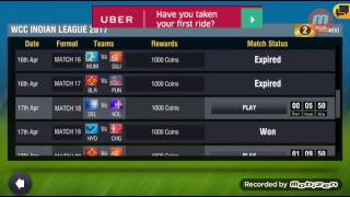 18th April Royal Challengers Banglore Vs Gujarat Lions World Cricket Championship 2 2017 Gameplay
