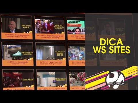 Dica WS Sites - Sites responsivos