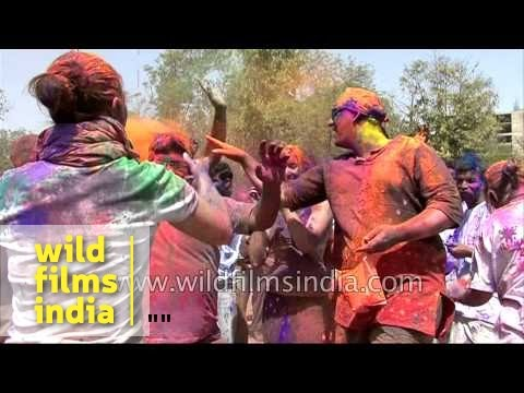 Holi festival in India - messy or fun? What's your view?
