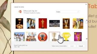 How to add clip art in PowerPoint and Word 2013