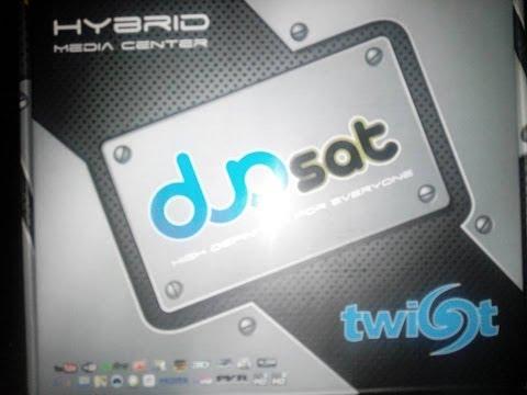 Apresentacao, Instalação e Configuração do lançamento DUOSAT TWIST HD 29/04/2014