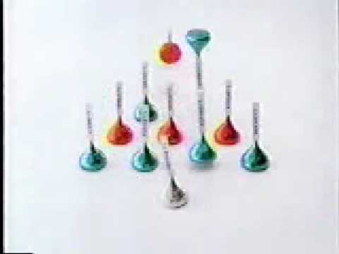 Hershey's Kisses Christmas Commercial Video