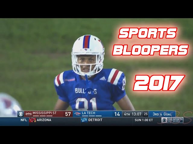 Greatest Sports Bloopers 2017  Part 1 funny