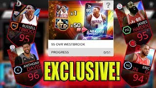 EXCLUSIVE CARDS ON NBA LIVE MOBILE ASIA 勁爆美國職籃! TRIPLE DOUBLE KING RUSSELL WESTBROOK IS BETTER HERE?