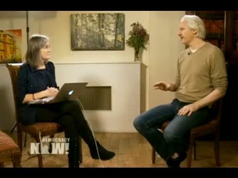 Exclusive: DN! Goes Inside Assange's Embassy Refuge to Talk WikiLeaks, Snowden and Winning Freedom