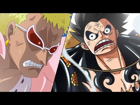 One Piece 784 Manga Chapter ワンピース Live Reaction -- Luffy Goes Gear 4th Muscle Balloon Vs Doflamingo video