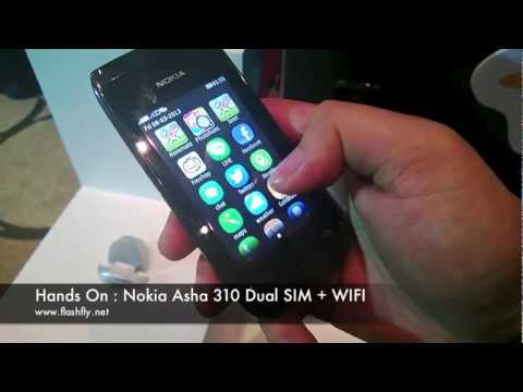 Hands On : Nokia Asha 310 with LINE Application (Thailand)