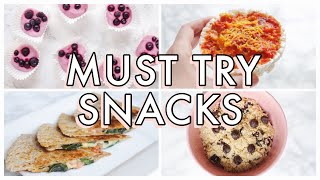 7 Quick and Simple Vegan Snack Ideas to Make at Home | SO EASY!
