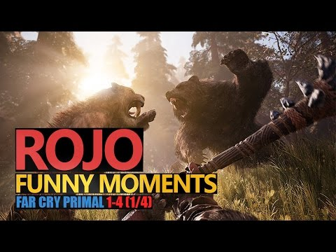 Funny Moments #113: FAR CRY: PRIMAL 1/4 | Rojo & Urhara