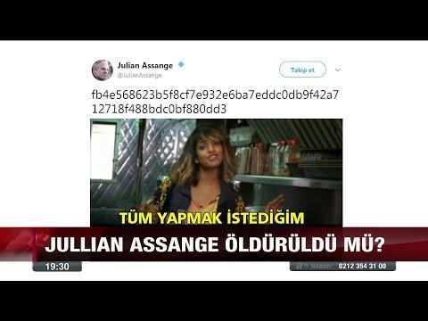 Jullıan Assange öldürüldü mü? - 4 Ocak 2018