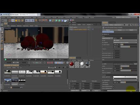 Herramienta para Cinema 4D: Escenario Básico v3