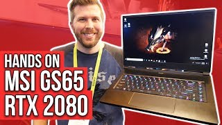 2019 MSI GS65 Stealth w/ RTX 2080 Max-Q! Possibly Best Thin-Light Gaming Laptop? We'll see!