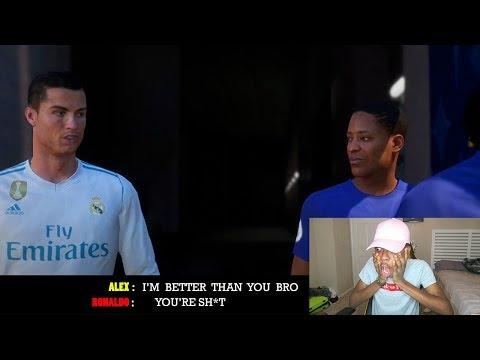 REACTING TO THE JOURNEY: HUNTER RETURNS TRAILER - FIFA 18!!!