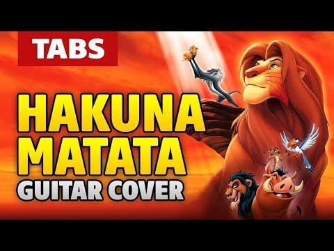 Misc Cartoons - Lion King - Hakuna Matata