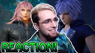 KINGDOM HEARTS 3 D23 2018 TRAILER REACTION! ~ NEW SONG!