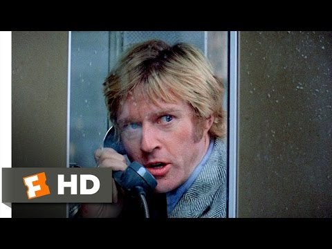 Three Days Of The Condor (1/10) Movie CLIP - Turner Calls For Help (1975) HD