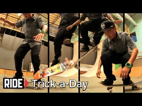 How-To Nollie Late Flip With Willy Santos - Trick-a-Day