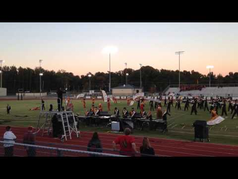 Jonesboro AR Marching Band 2013 Mayan Prophecy