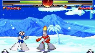 Fireman VS Iceman (Megaman Bosses MVC Style)