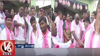 Minister Jogu Ramanna Door To Door Election Campaign In Adilabad | TS Assembly Polls