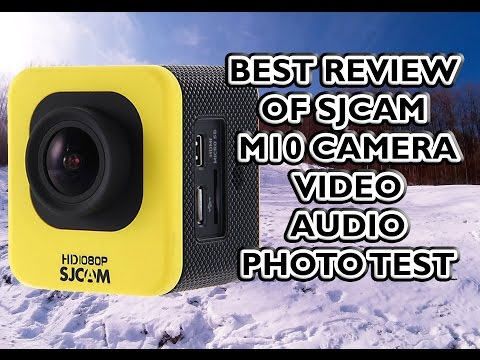 SJCAM M10 Mini Cube Action Camera Review (Video Samples, Audio, Photo Test)