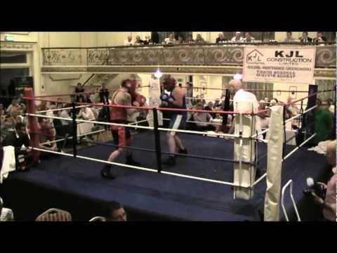 Rhys Williams (Blue) v Danny Simm (Red/Black) - JAB Boxing