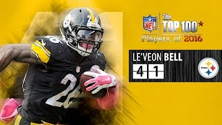 #41: Le'Veon Bell (RB, Steelers) | Top 100 NFL Players of 2016