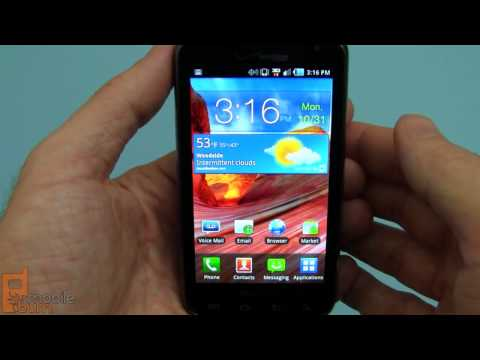 Samsung Stratosphere (verizon) Qwerty Smartphone Video Review video