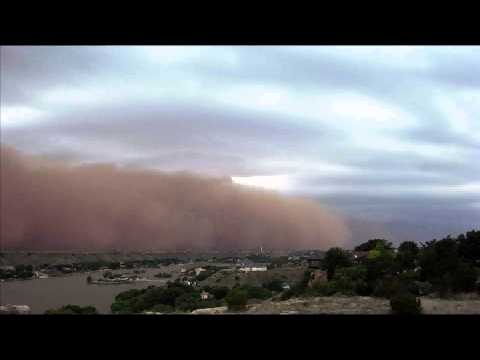 Monstrous 100 Mile Phoenix Arizona Dust Storm Haboob Can Cause Valley Fever - Lung Disease- Death