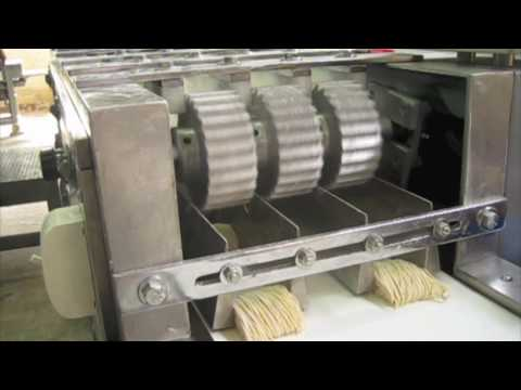เครื่องทำบะหมี่ JTV & EXCELLENT cutter machine (noodle factory) Music Videos