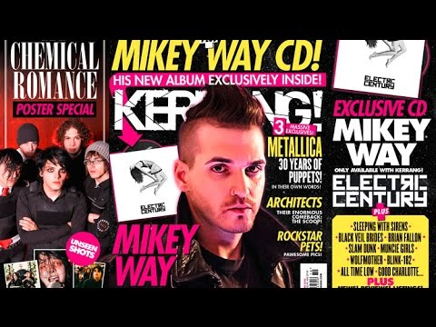 Behind The Scenes With Mikey Way's Electric Century
