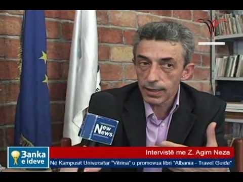 """Intervistë me Z. Agim Neza për librin """"Albania - Travel Guide"""""""