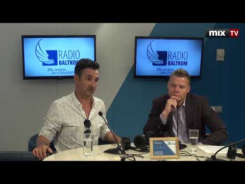 """Янис Йензис и Эндийс Берзиньш в программе """"Утро на Балткоме"""" #MIXTV"""