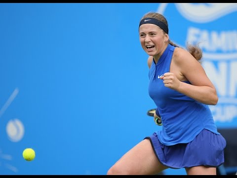 2016 Aegon Classic Second Round | Jelena Ostapenko vs Petra Kvitova | WTA Highlights