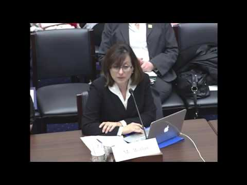 Maria Werlau (Cuba Archive)'s testimony on human trafficking before the US Congress