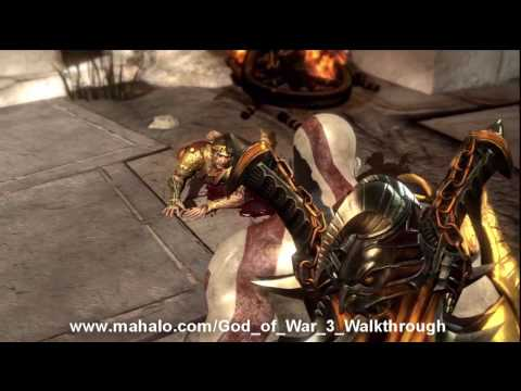 God of War III Walkthrough - Helios' Head HD