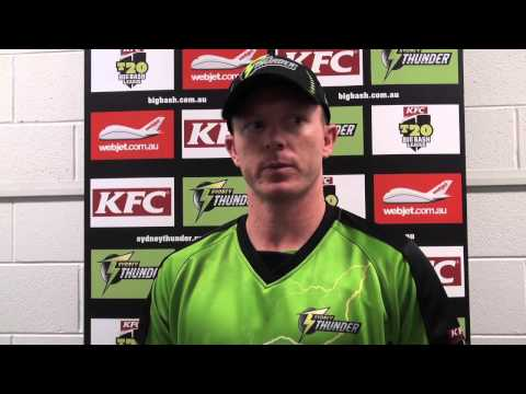 Stars v Thunder - Captain Chris Rogers reviews the game and season