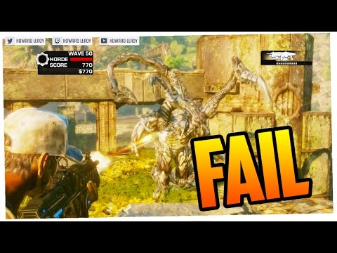 FAIL TRAS FAIL TRAS SUPER FAIL - EL RETO IMPOSIBLE #5 (Gears of War 3)